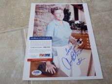 Ann B Davic Brady Bunch Alice Signed Autographed 8x10 Photo PSA Certified