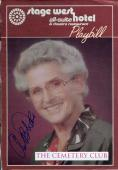 Ann B Davis Alice On The Brady Bunch Tv Show Actress Signed Photo Page Autograph