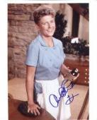 Ann B. Davis autographed 8x10 Photo (Actress, Brady Bunch)