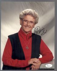 Ann B. Davis SIGNATURE AUTOGRAPH AUTO 8X10 PHOTO JSA CERTIFIED AUTHENTIC