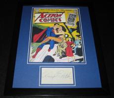 Ann Blyth Signed Framed 11x14 Photo Display w/ Superman