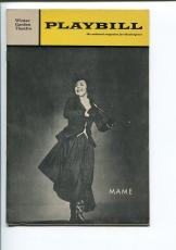 Ann Miller Anne Francine Laurie Franks Willard Waterman Mame 1969 Playbill