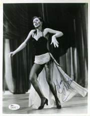 Ann Miller Jsa Coa Hand Signed 8x10 Photo Authentic Autograph