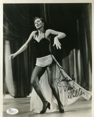 Ann Miller Jsa Coa Hand Signed 8x10 Photo Authenticated Autograph