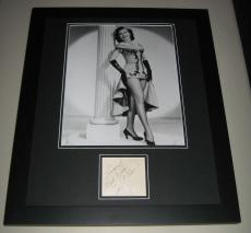 Ann Miller LEGGY Signed Framed 16x20 Photo Poster Display