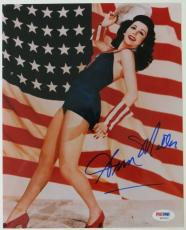 Ann Miller Signed Authentic Autographed 8x10 Photo (PSA/DNA) #S81820