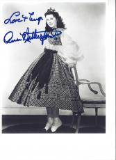 "ANN RUTHERFORD as CARREEN in ""GONE WITH The WIND"" a 1939 Movie - Signed 8x10 B/W Photo"