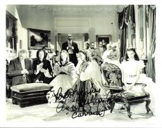 """ANN RUTHERFORD as CARREEN in the 1939 Movie """"GONE with the WIND"""" Signed 10x8 B/W Photo"""