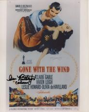ANN RUTHERFORD HAND SIGNED 8x10 COLOR PHOTO+COA     CARREEN   GONE WITH THE WIND