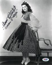 Ann Rutherford Signed Authentic Autographed 8x10 Photo (PSA/DNA) #K16804