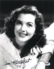 Ann Rutherford Signed Authentic Autographed 8x10 Photo (PSA/DNA) #K16881