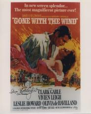 Ann Rutherford Signed Autographed Gone With The Wind 8x10 Photo