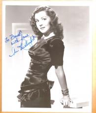 Ann Rutherford-signed vintage photo-26 f