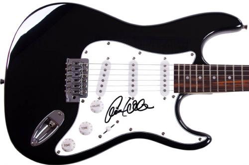 Ann Wilson Heart Autographed Signed Guitar UACC RD COA AFTAL