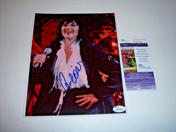 Ann Wilson Heart Music Legend Jsa/coa Signed 8x10 Photo