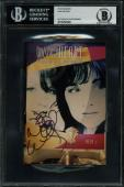 Ann Wilson Heart Signed 4x6 Index Card Autographed BAS Slabbed