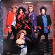 Ann Wilson & Nancy Wilson Heart Autographed Heart Album - BAS