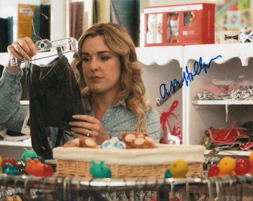 ANNA MARGARET HOLLYMAN signed ( MAUDE) The Brave One Actress 8X10 photo W/COA #5