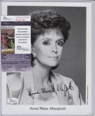 Anna Maria Alberghetti Signed Autograph Auto 8x10 Jsa Certified