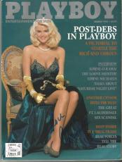 Anna Nicole Smith Playboy Legend Signed Autograph 1992 Playboy Magazine Jsa Loa