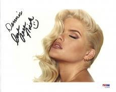 Anna Nicole Smith Signed Autographed 8x10 Photo PSA DNA Auto S13030