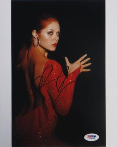 Anna Trebunskaya Signed DWTS Authentic Autographed 8x10 Photo (PSA/DNA) #U26588