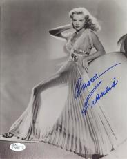 ANNE FRANCIS HAND SIGNED 8x10 PHOTO         GORGEOUS+VERY SEXY ACTRESS       JSA