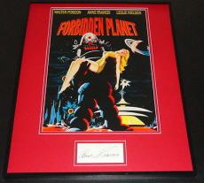Anne Francis Signed Framed 16x20 Photo Poster Display Forbidden Planet