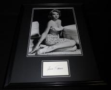 Anne Francis Signed Framed 16x20 Photo Poster Display JSA Forbidden Planet F