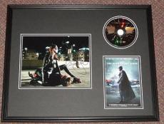 Anne Hathaway Signed Framed 16x20 Dark Knight Rises Photo & DVD Set JSA