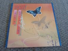 Anne Wilson Heart DOG & BUTTERFLY Autographed Signed LP Album PSA Guaranteed