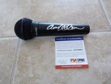 Anne Wilson of Heart Sexy Signed Autographed Microphone PSA Certified