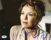 Annette Bening American Beauty Signed 8X10 Photo PSA/DNA #P43327