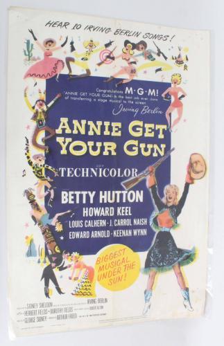 Annie Get Your Gun One Sheet Movie Poster 56/232