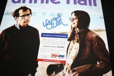 ANNIE HALL Woody Allen & Diane Keaton signed 11 x 14, Manhattan, PSA/DNA Z35961