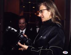 Annie Leibovitz SIGNED 11x14 Photo Rolling Stone Photographer PSA/DNA AUTOGRAPH