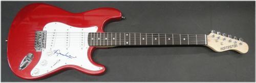 Annie Lennox Hand Signed Autographed Electric Guitar Rock Eurythmics JSA S40592