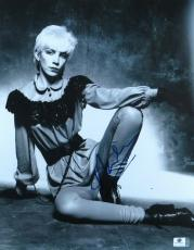 Annie Lennox Signed Autographed 11X14 Photo Vintage Eurythmics Singer JSA U16740