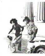 "ANNIE POTTS as VANESSA in 1978 Movie ""CORVETTE SUMMER"" Signed 8.5x11 B/W Photo"