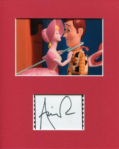 Annie Potts Disney Voice Toy Story Bo Peep Signed Autograph Photo Display