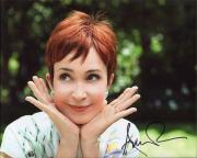 ANNIE POTTS HAND SIGNED 8x10 PHOTO+COA       BEAUTIFUL ACTRESS   DESIGNING WOMEN