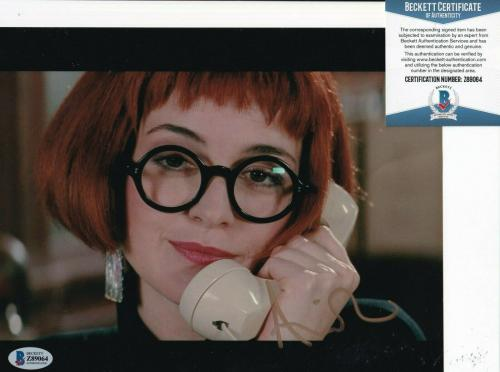ANNIE POTTS signed (GHOSTBUSTERS) Janine movie 8X10 photo BECKETT BAS Z89064