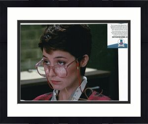 ANNIE POTTS signed (GHOSTBUSTERS) Janine movie 8X10 photo BECKETT BAS Z89065