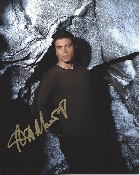 "ANSON MOUNT - Best Known for His Role as CULLEN BOHANNON on TV Series ""HELL ON WHEELS"" Signed 8x10 Color Photo"