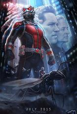 Ant Man 2014 Comic-Con SDCC Marvel 13x20 inch mini promo teaser art movie poster