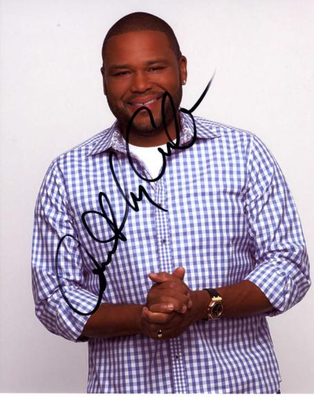 Anthony Anderson Autographed Transformers Signed 8x10 Photo UACC RD AFTAL