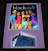 Anthony Anderson Signed Framed 11x14 Photo Display Black-ish w/ cast