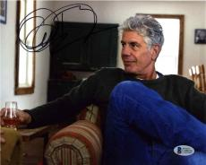 Anthony Bourdain Parts Unknown Autographed Signed 8x10 Photo Beckett BAS COA