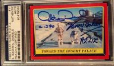 Anthony Daniels Kenny Baker 1983 Topps AUTO Signed Autograph PSA/DNA Star Wars