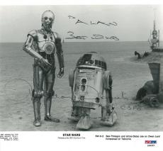 Anthony Daniels Signed Star Wars Autographed 8x8.5 Photo (PSA/DNA) #P49321